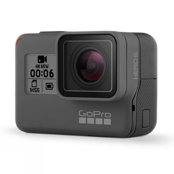 GoPro HERO6 Black + 32GB MicroSD Card Bundle .