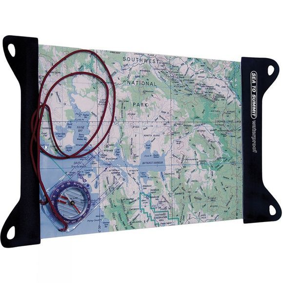 Sea to Summit TPU Guide Map Case Large Clear