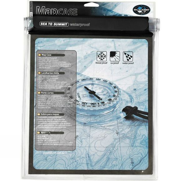 Sea to Summit Waterproof Map Case Large Clear