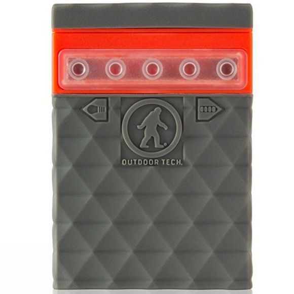 Outdoor Tech Kodiak 2.0 Powerbank Grey/Orange