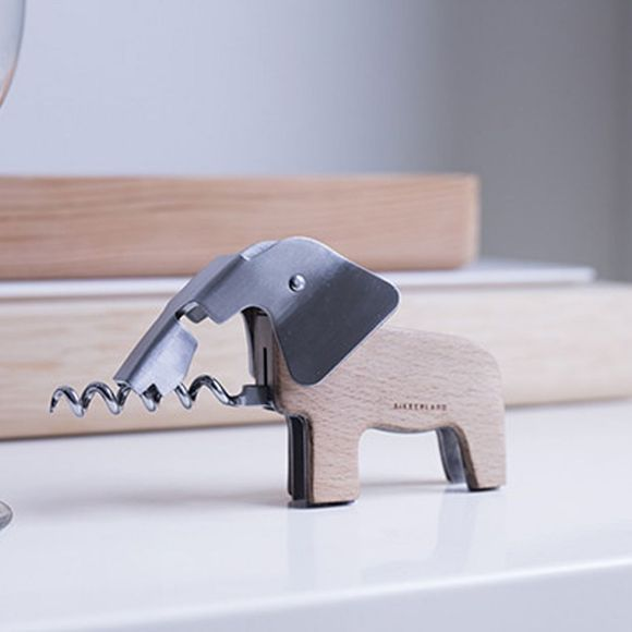 Kikkerland Elephant Corkscrew No Colour