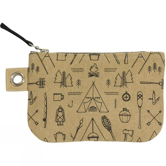 Adventure Awaits Small Zipped Pouch