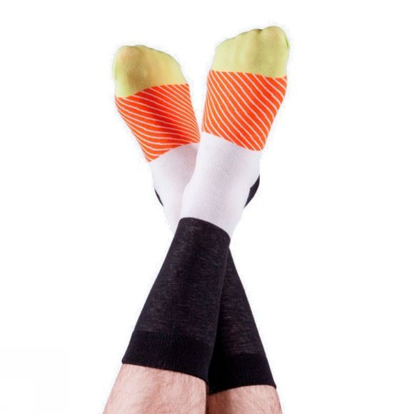 Doiy Maki Socks Salmon