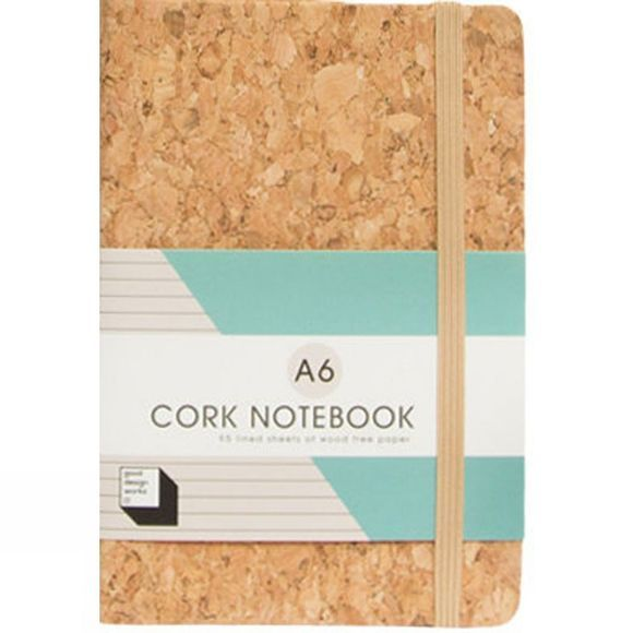 Suck UK Cork Notebook A6 No Colour