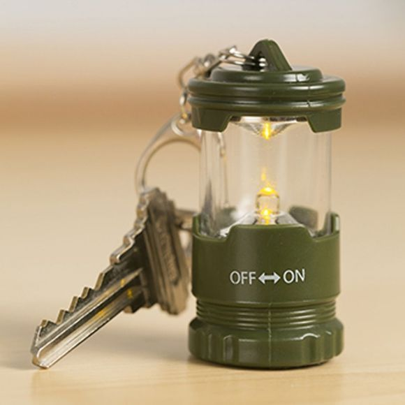 Kikkerland Mini Lantern Keychain No Colour