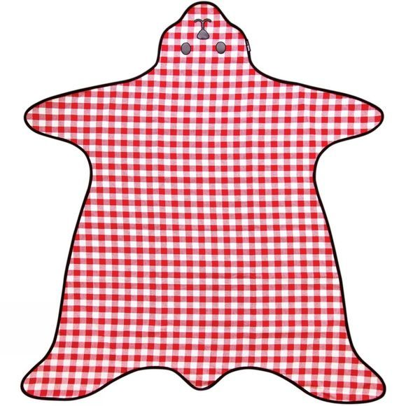Bear Shaped Picnic Blanket