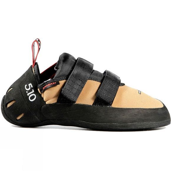 5.10 Mens Anasazi VCL Climbing Shoe Gold Tan - C4 Rubber