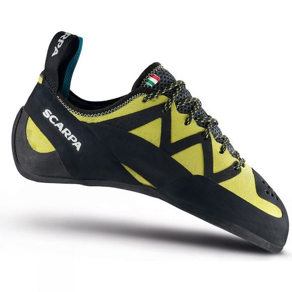 Scarpa Mens Vapour Lace Climbing Shoe Yellow
