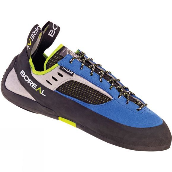 Boreal Mens Joker Lace Climbing Shoe Blue