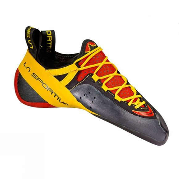 La Sportiva Mens Genius Climbing Shoe Red/Yellow