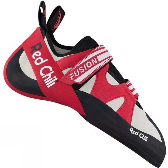 Red Chili Mens Fusion VCR Rock Shoes Anthracite red