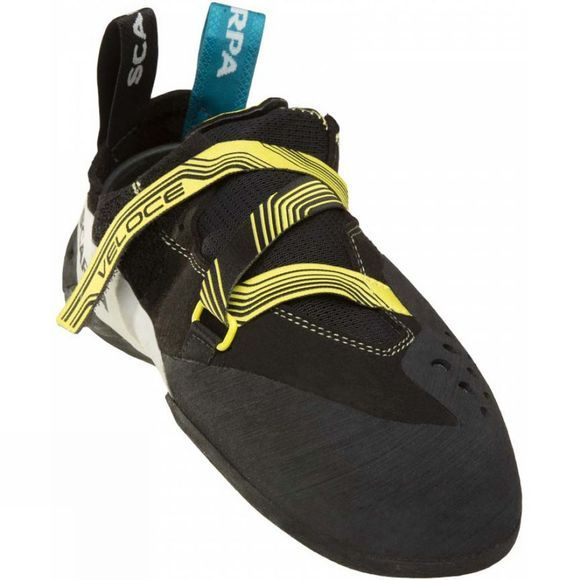 Scarpa Veloce Climbing Shoe Black          /Lt Yellow