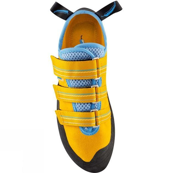 Red Chili Spirit Lady VCR Shoe Yellow/Blue