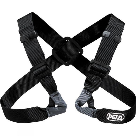Petzl Voltige Chest Harness Black