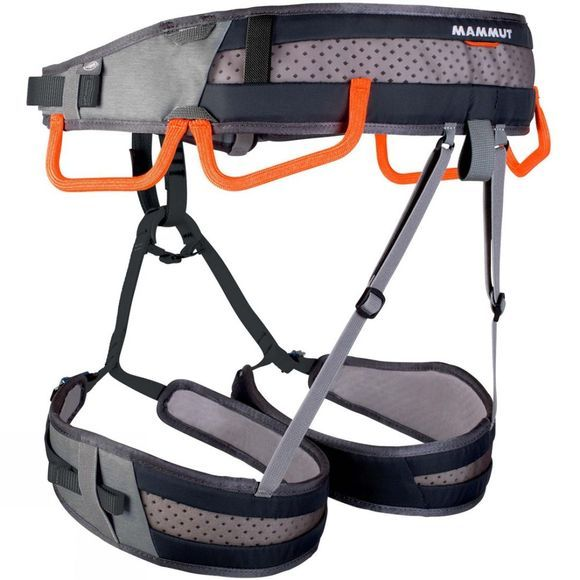 Mammut Ophir 4 Slide Harness Titanium/Phantom