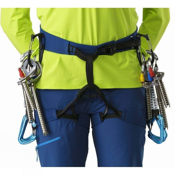 Arc'teryx Womens FL-355 Harness Poseidon/Titanite