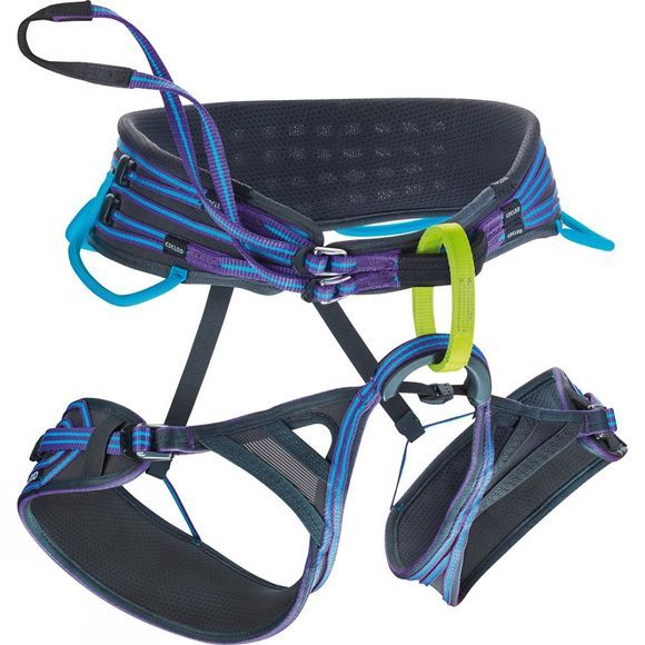 Edelrid Womens Solaris Harness Icemint / Violet