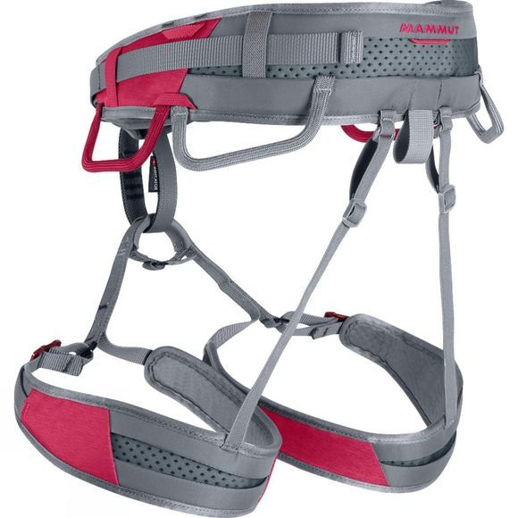Mammut Womens Ophir Speedfit Harness Dark Magenta/Iron