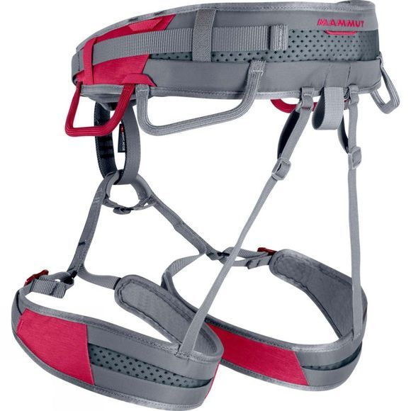 Mammut Womens Ophir Fast Adjust Harness Dark Magenta/Iron