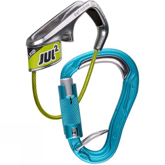 Edelrid Jul 2 Belay Kit Bulletproof Triple Belay Icemint