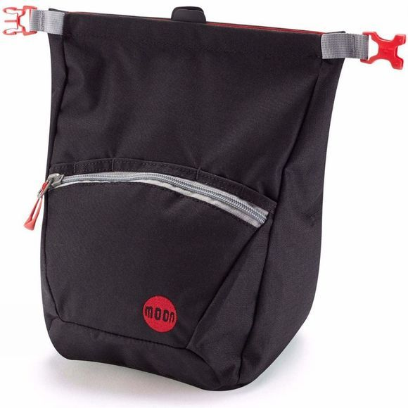 Moon Bouldering Chalk Bag Jet Black
