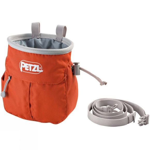 Petzl Sakapoche Chalk Bag Red