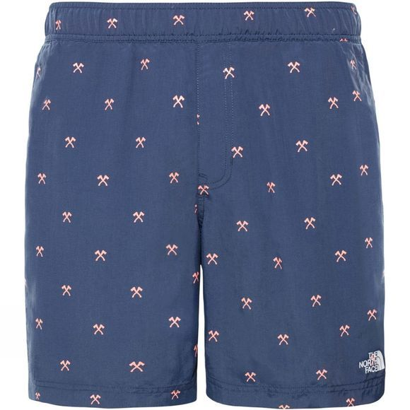 The North Face Mens Class V P/O Swim Trunk Urban Navy Hatchet Print