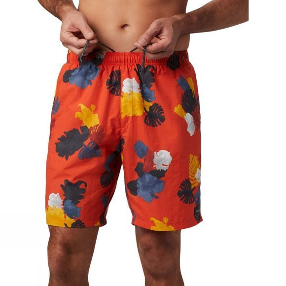 Columbia Mens Big Dippers Water Short Wildfire Tropical