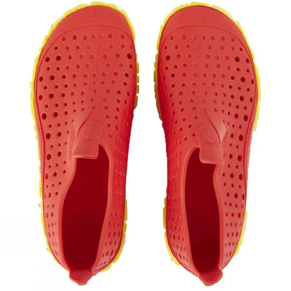 Speedo Kids Jelly Junior Shoes Lava Red/ Empire Yellow