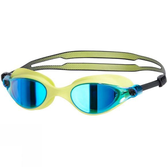 Speedo Vue Mirror Goggle Lime Punch/Blue