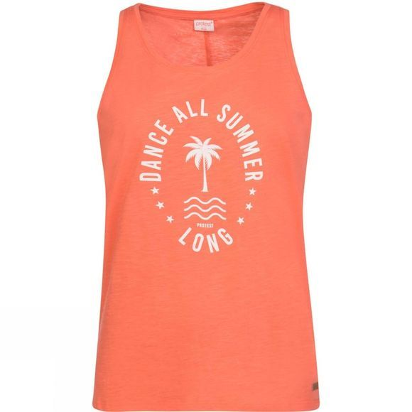 Protest Womens Nitpicker Singlet Live Coral