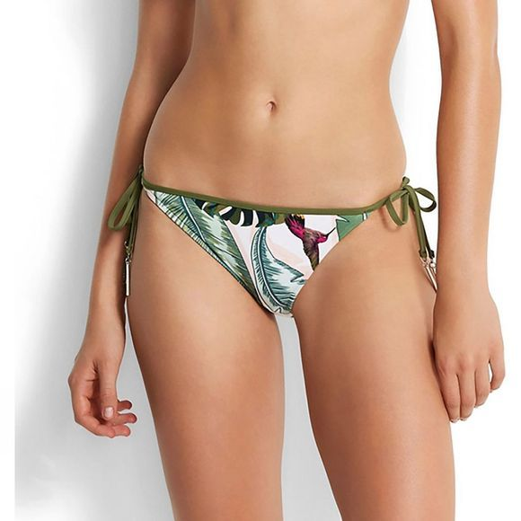Seafolly Womens Loop Tie Side Hipster Bikini Pant MOSS MOSS