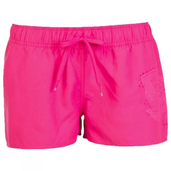 Protest Womens Evidence Beach Shorts Pink Pink