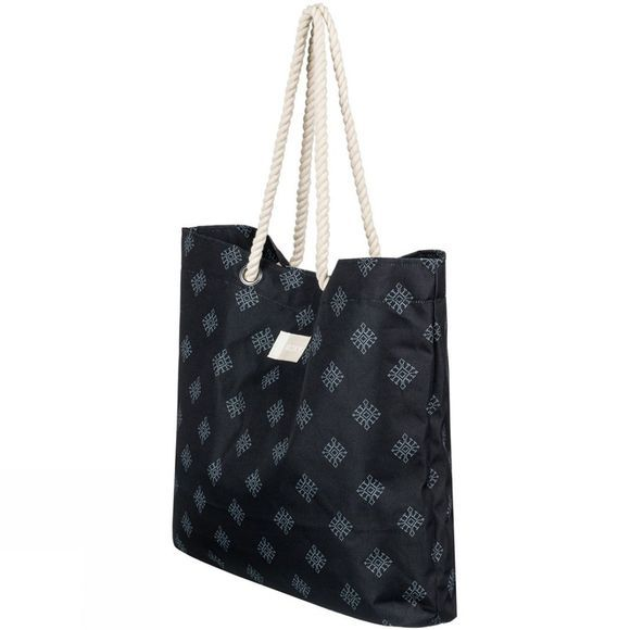 Roxy Tropical Vibe Printed Bag ANTHRACITE PEARLY TILES