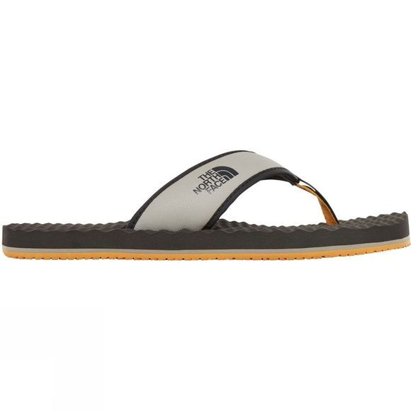 The North Face Mens Base Camp Flip Flop Phantom Grey/Silt Grey