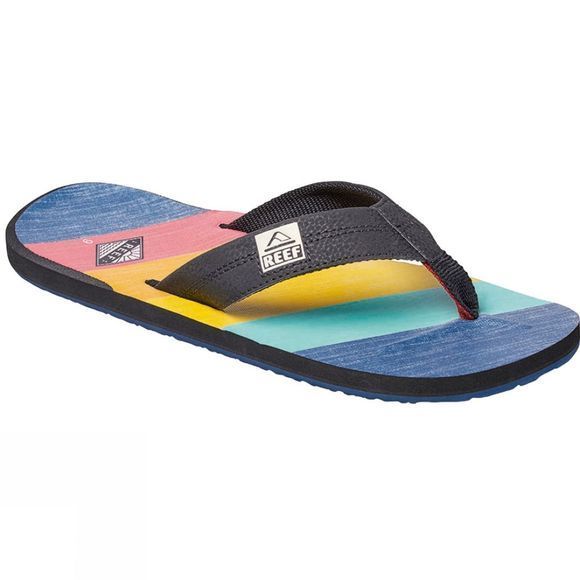 Reef Mens Reef HT Prints Sandal 70s Blue