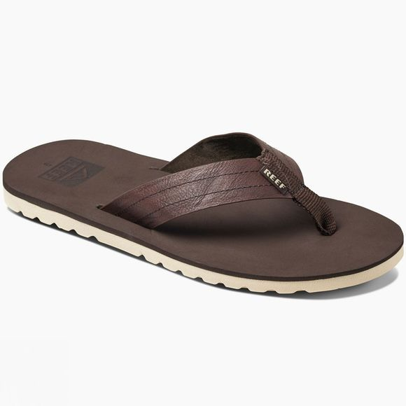 Reef Mens Voyage Sandal Dark Brown