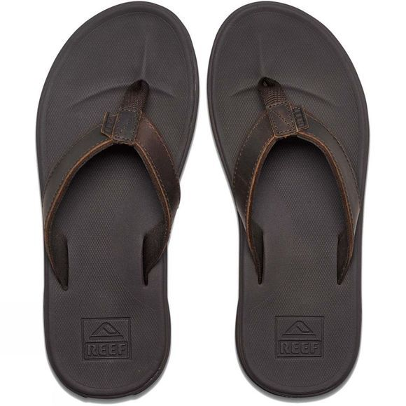 Reef Men's Slammed Rover Lux Flip Flops Brown