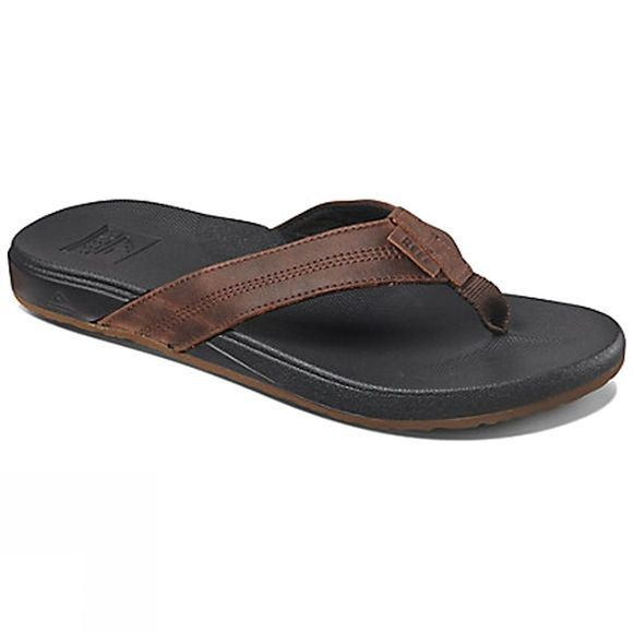 Reef Mens Cushion Bounce Phantom LE Flip Flops Black/Brown