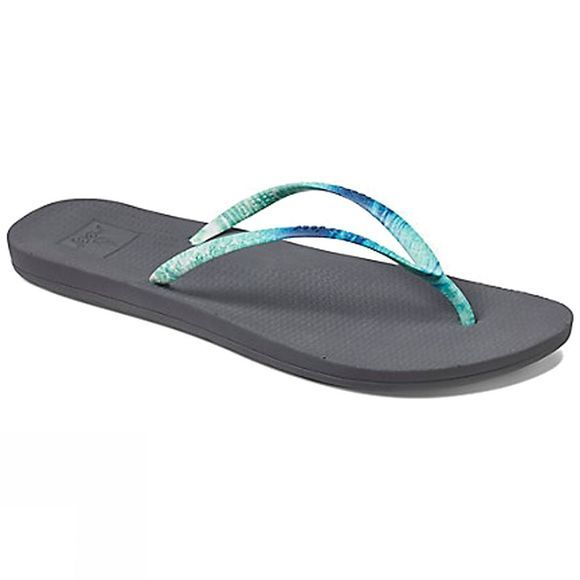 Reef Womens Escape Lux Nature Flip Flop Ocean