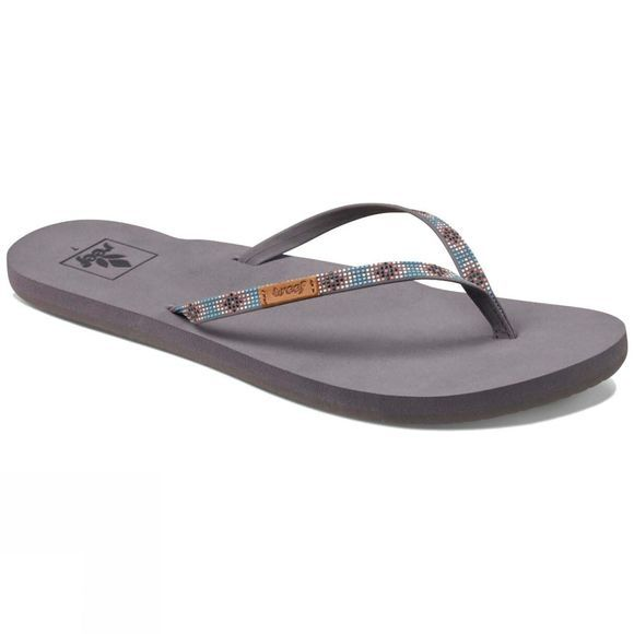 Reef Womens Slim Ginger Beads Flip Flop Turquoise
