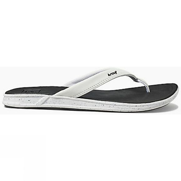 Reef Womens Rover Catch Pop Flip Flop Black/White