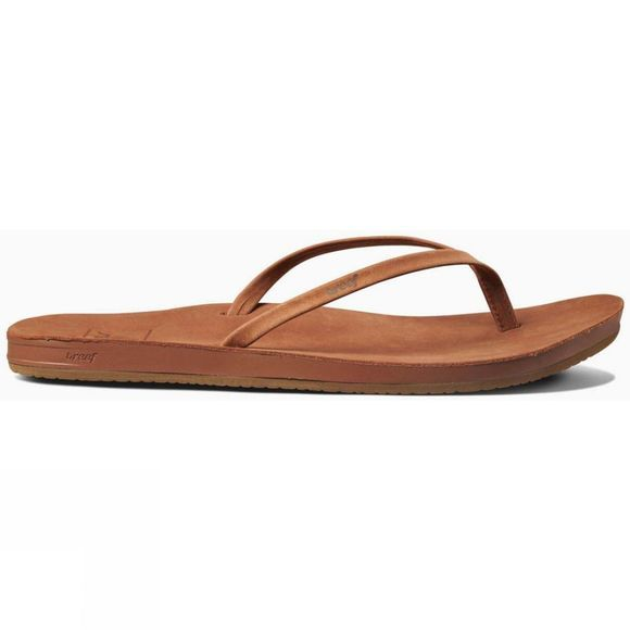 Reef Womens Cushion Bounce Slim LE Flip Flop Cocoa