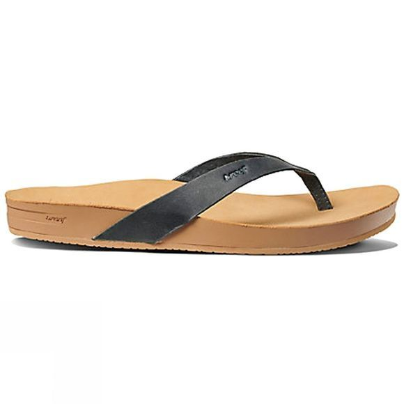 Reef Womens Cushion Bounce Court LE Flip Flop Black