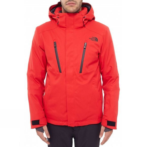The North Face Mens Ravina Jacket Red