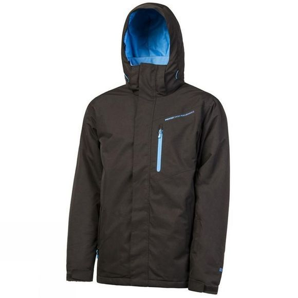 Protest Mens Challow Snowjacket True Black