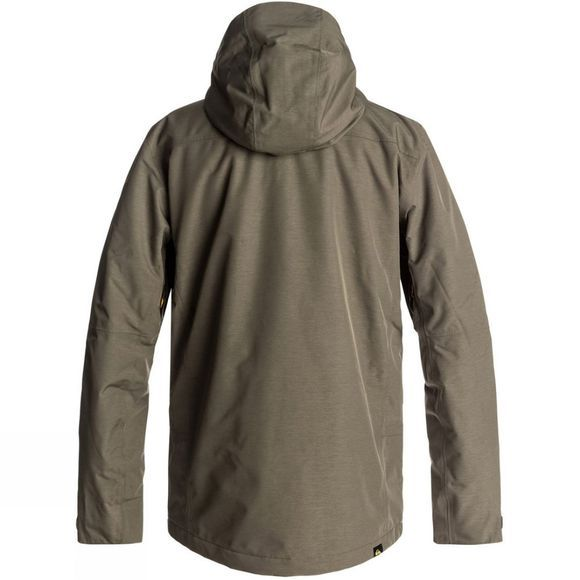 Quiksilver Mens Sycamore Jacket Grape Leaf