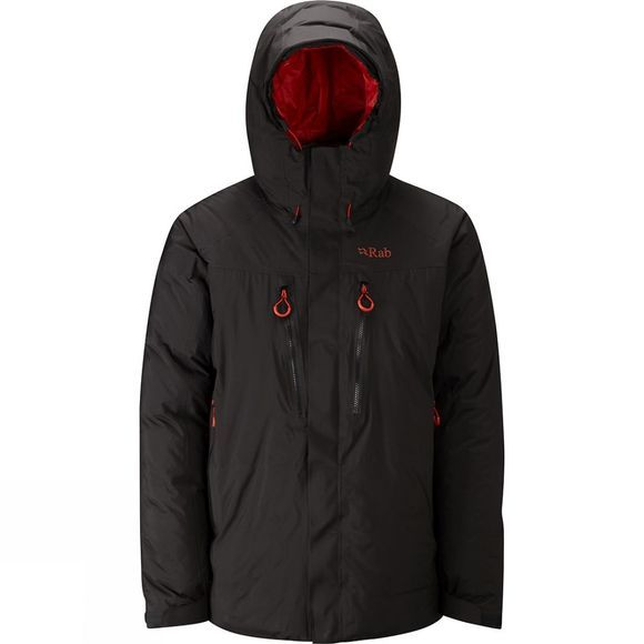 Rab Mens Batura Jacket  Black/Horizon