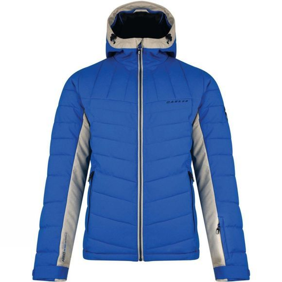 Dare 2 b Mens Intention II Ski Jacket Oxford Blue/Oatmeal