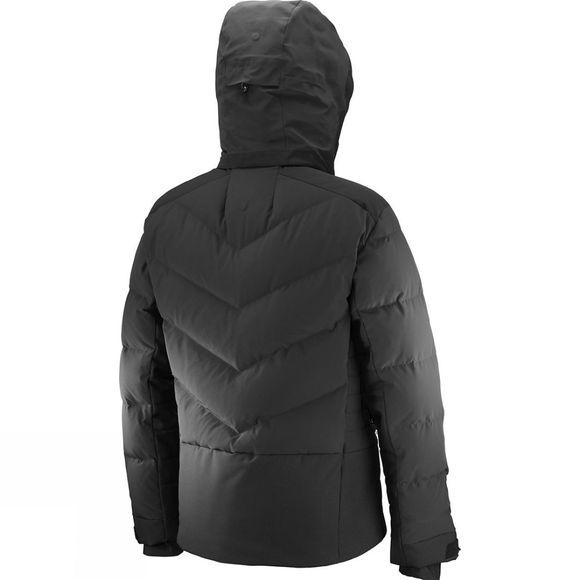 Salomon Mens Whitebreeze Down Jacket Black
